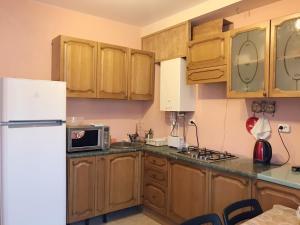 Кухня или мини-кухня в Mini-hotel Divnomorskiy