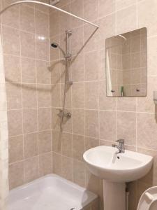 Ванная комната в Mini-hotel Divnomorskiy