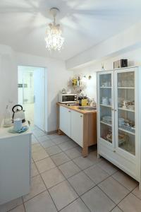 Küche/Küchenzeile in der Unterkunft Getreidegassen Appartements
