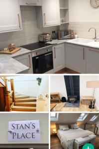 A kitchen or kitchenette at Brand New Converted Cottage