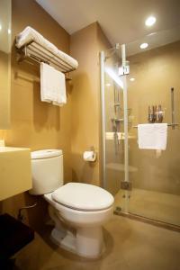 A bathroom at Regalia Residences Changning Shanghai
