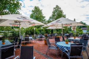 A restaurant or other place to eat at Quality Hotel Bielefeld