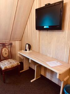 Телевізор і / або розважальний центр в Готельно-ресторанний комплекс «Галицький замок»