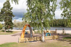 Lekplats på Scandic Ikaalisten Kylpylä