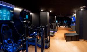 Gimnasio o instalaciones de fitness de Magic Aqua Rock Gardens