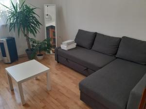 Część wypoczynkowa w obiekcie Euro-Room Rooms & Apartments
