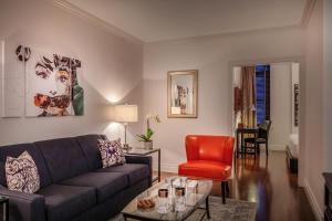 Zona de estar de Avalon Hotel