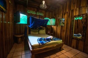 Litera o literas de una habitación en Hotel La Costa de Papito