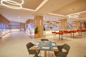 Un restaurante o sitio para comer en Bahia Principe Fantasia Tenerife