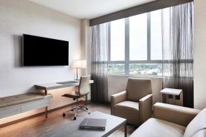 A television and/or entertainment centre at AC Hotel by Marriott Beverly Hills