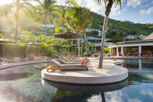 The swimming pool at or near Hotel Christopher Saint Barth