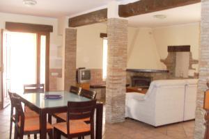 A seating area at Villa Almendros