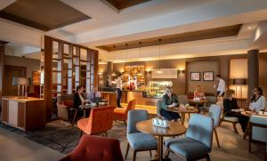 A restaurant or other place to eat at Clayton Hotel Galway