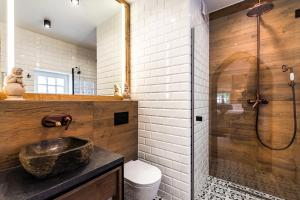 Ванная комната в Gotyk House