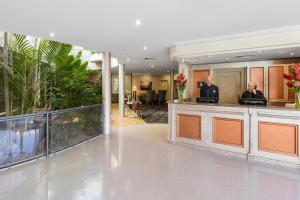 The lobby or reception area at Kimberley Gardens Hotel, Serviced Apartments and Serviced Villas