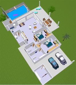 Grundriss der Unterkunft Lai Thai Villa