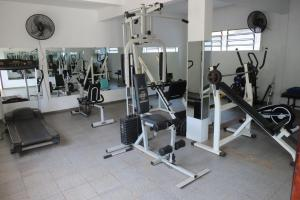 The fitness center and/or fitness facilities at Hotel Monalisa