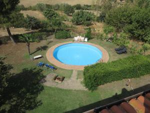 Vista sulla piscina di BiancoCancello o su una piscina nei dintorni