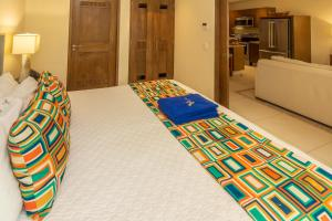 A bed or beds in a room at V Azul Vallarta - Luxury Vacation Rental Adults Only
