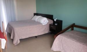 Cama o camas de una habitación en Indalo