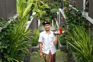 Personeel van Annupuri Villas Bali