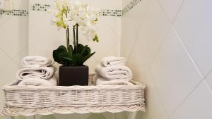 Ein Badezimmer in der Unterkunft Salvia e Rosmarino