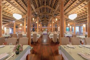 A restaurant or other place to eat at Pilgrimage Village Boutique Resort & Spa