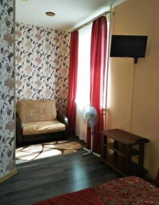 Гостиная зона в Гостиница Градец