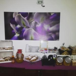 Breakfast options available to guests at B&B Giulia