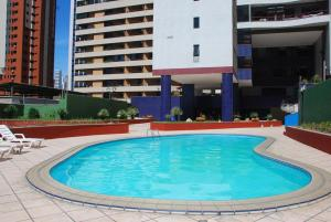 The swimming pool at or close to Porto De Iracema Temporada