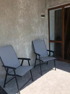 A seating area at Teona's Guesthouse in Mestia