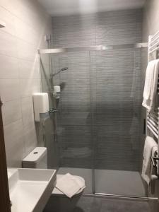 A bathroom at Hostel El Paloma