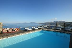 The swimming pool at or near Tharroe of Mykonos Boutique Hotel