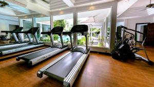 The fitness center and/or fitness facilities at Memoire d' Angkor Boutique Hotel