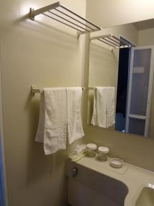 Ein Badezimmer in der Unterkunft Chunshengjiang Hotel