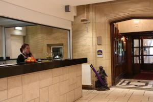 The lobby or reception area at Best Western Burnley West Higher Trapp Hotel