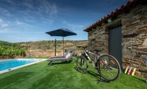 The swimming pool at or near Casa de Guribanes