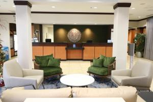 The lobby or reception area at Fairfield Inn & Suites by Marriott San Antonio Downtown/Alamo Plaza