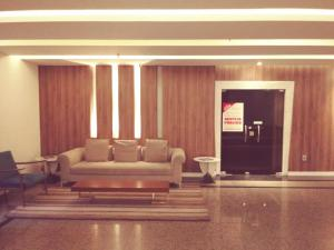 The lobby or reception area at Spazzio Hotel Residence