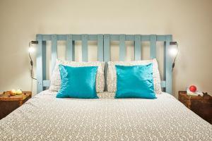 Uma cama ou camas num quarto em Casa da Sobreira