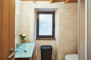 Uma casa de banho em Casa da Sobreira