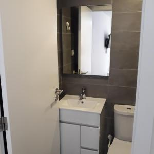 A bathroom at O PALACETE