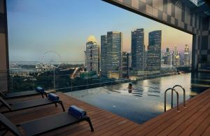 The swimming pool at or near Pan Pacific Serviced Suites Beach Road (SG Clean, Staycation Approved)