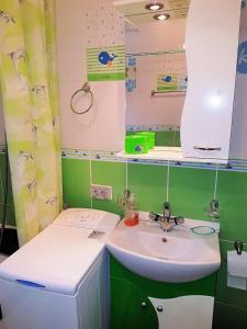 O baie la Apartament Kogaion
