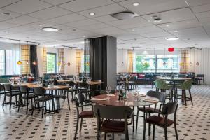 Restaurant ou autre lieu de restauration dans l'établissement Quality Hotel The Mill