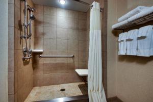 A bathroom at Hollywood Casino Bangor