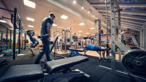The fitness center and/or fitness facilities at Cavan Crystal Hotel