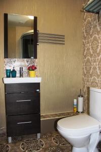 Ванная комната в Hotel Diamant