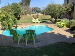 The swimming pool at or close to Storms River Guest Lodge