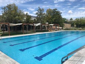 Het zwembad bij of vlak bij Finca Vivaldi Hotel Nature & Spa